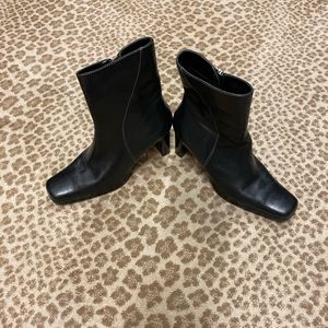Anne Klein leather boots